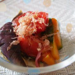 夏野菜の煮びたしに、、<br /> <br /> #ヤマキかつお節<br /> #ヤマキレシピ