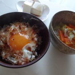 かつお節をかけるだけで香り高い最高の卵かけごはん!<br /> #ヤマキかつお節 #ヤマキレシピ