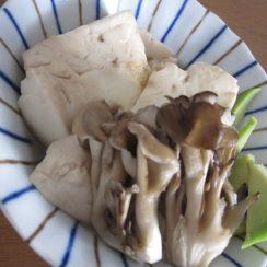 #ヤマキレシピ <br /> #ヤマキ割烹白だし<br /> お豆腐の煮物です。