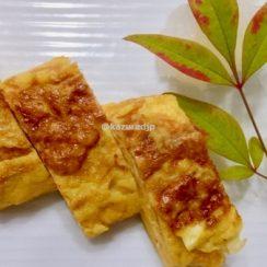 割烹白だしを使って卵焼きを作りました?<br /> #ヤマキ割烹白だし<br /> #ヤマキレシピ