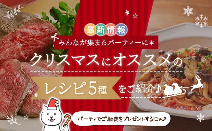 みんなが集まるパーティーに*クリスマスにオススメのレシピ5種をご紹介♪