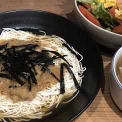 #ヤマキめんつゆ<br /> #ヤマキレシピ<br /> 練馬ズパゲッティならぬ練馬素麺