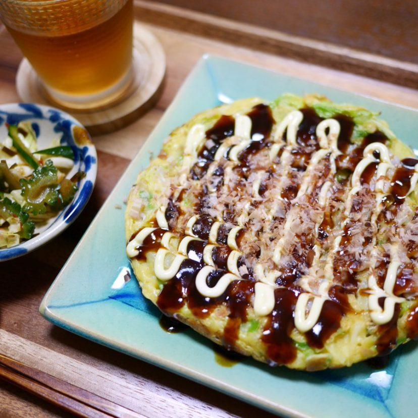 #ヤマキレシピ<br /> #ヤマキかつお節<br /> #Twitter家庭料理部 <br /> <br /> おうちでお好み焼きするの<br /> わりと好きです。