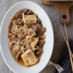 豚と豆腐の南蛮漬け